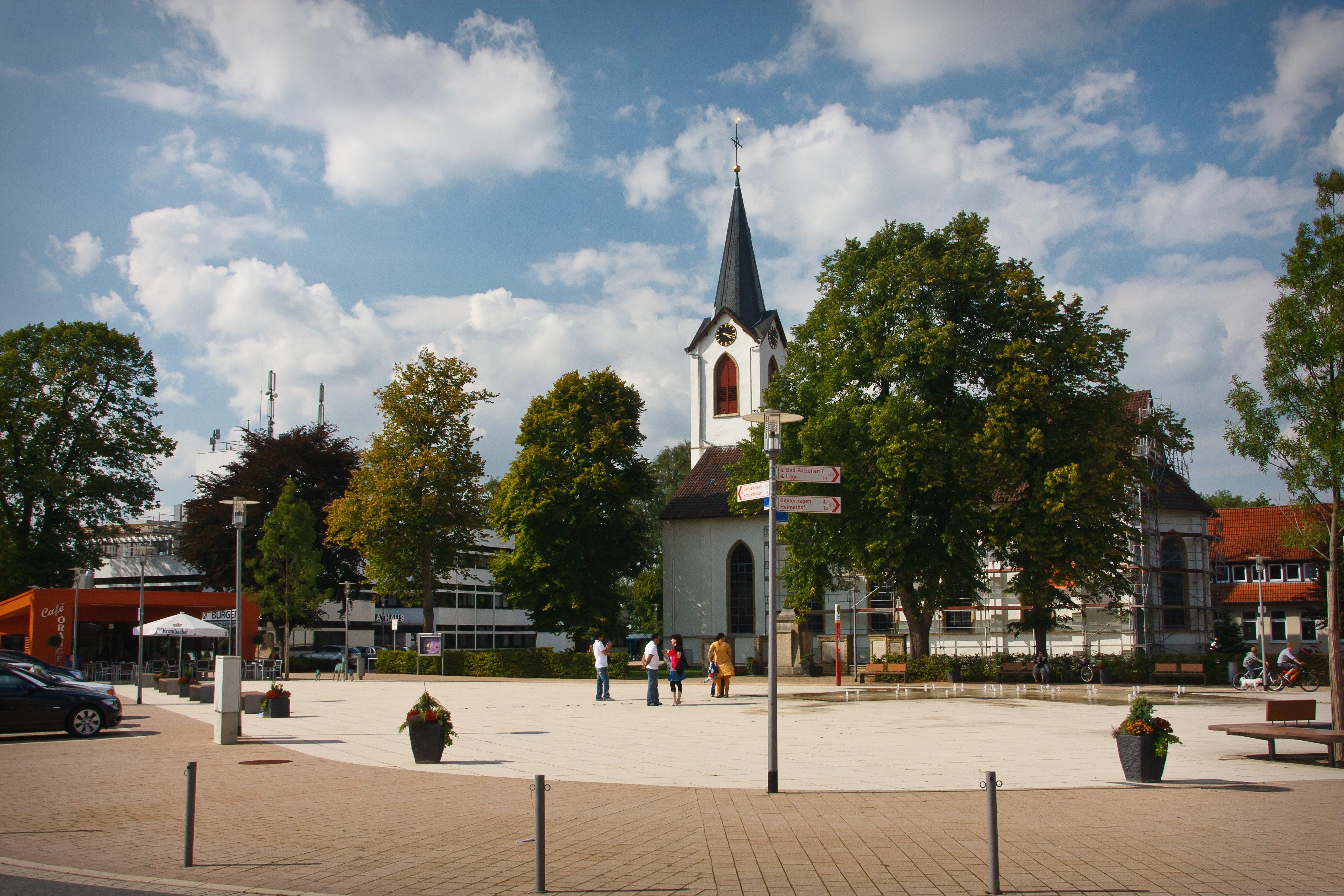 Martkplatz Leopoldshöhe