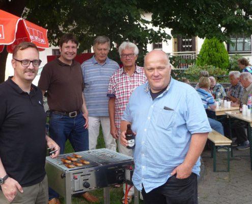 Die SPD im Ortsteil Heipke mit Henning Welslau
