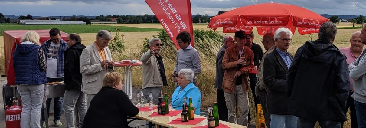 Martin Hoffmann beim rotem Grill in Nienhagen