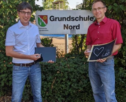 Jörn Sauerland und Martin Hoffmann